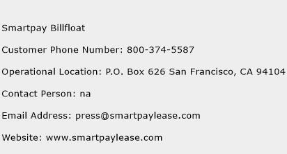 Smartpay Billfloat Phone Number Customer Service
