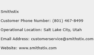 Smithstix Phone Number Customer Service