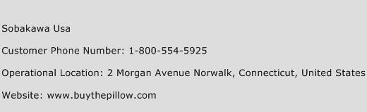 Sobakawa USA Phone Number Customer Service