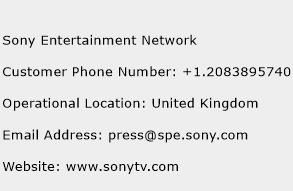 Sony Entertainment Network Phone Number Customer Service
