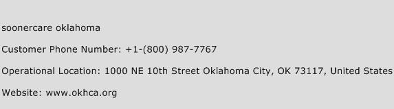 Soonercare Oklahoma Phone Number Customer Service