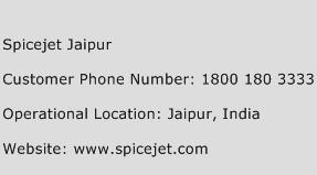 Spicejet Jaipur Phone Number Customer Service