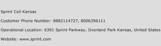 click here to view sprint cell kansas customer care numbers