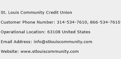 St. Louis Community Credit Union Phone Number Customer Service