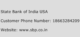 State Bank of India USA Phone Number Customer Service