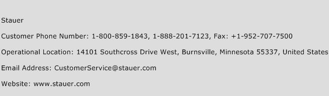 Stauer Phone Number Customer Service