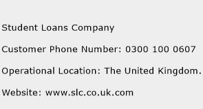 Student Loans Company Phone Number Customer Service