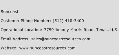 Suncoast Phone Number Customer Service