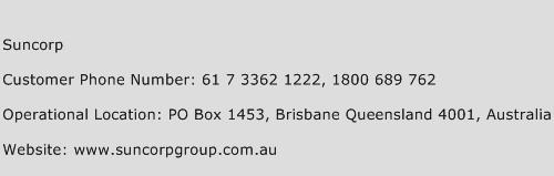 Suncorp Phone Number Customer Service