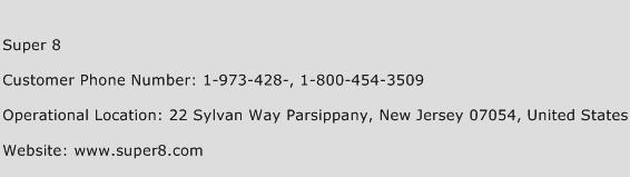 Super 8 Phone Number Customer Service
