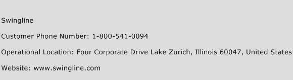 Swingline Phone Number Customer Service