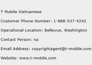 click here to view t mobile vietnamese customer service phone numbers