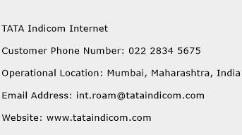 TATA Indicom Internet Phone Number Customer Service