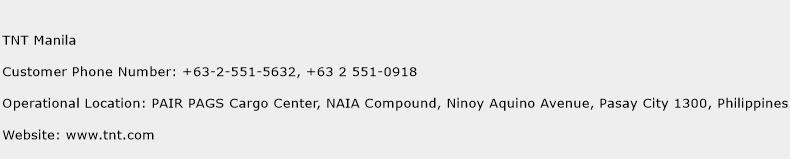TNT Manila Phone Number Customer Service