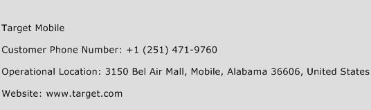 Target Mobile Phone Number Customer Service