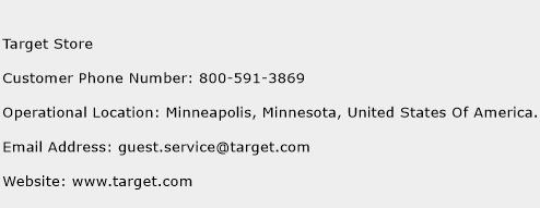 Target Store Phone Number Customer Service