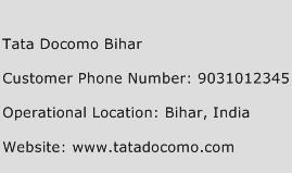 Tata Docomo Bihar Phone Number Customer Service