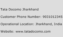 Tata Docomo Jharkhand Phone Number Customer Service