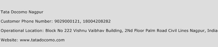Tata Docomo Nagpur Phone Number Customer Service