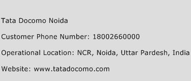 Tata Docomo Noida Phone Number Customer Service