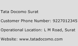 Tata Docomo Surat Phone Number Customer Service