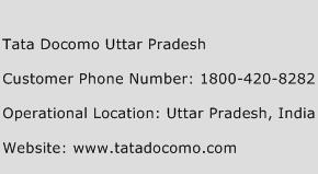Tata Docomo Uttar Pradesh Phone Number Customer Service