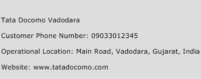 Tata Docomo Vadodara Phone Number Customer Service