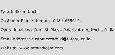 Tata Indicom Kochi Phone Number Customer Service