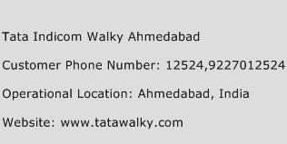 Tata Indicom Walky Ahmedabad Phone Number Customer Service