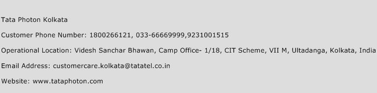Tata Photon Kolkata Phone Number Customer Service
