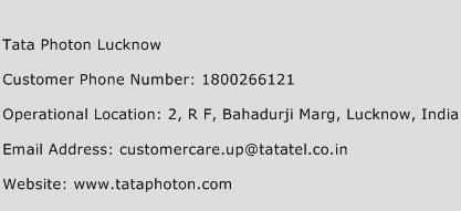 Tata Photon Lucknow Phone Number Customer Service