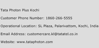 Tata Photon Plus Kochi Phone Number Customer Service