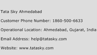 Tata Sky Ahmedabad Phone Number Customer Service