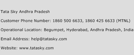 Tata Sky Andhra Pradesh Phone Number Customer Service