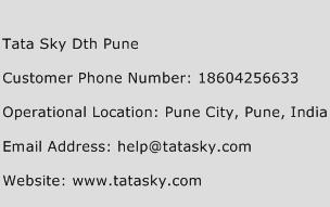 Tata Sky Dth Pune Phone Number Customer Service