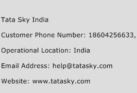 Tata Sky India Phone Number Customer Service