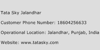 Tata Sky Jalandhar Phone Number Customer Service