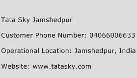 Tata Sky Jamshedpur Phone Number Customer Service