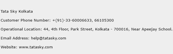Tata Sky Kolkata Phone Number Customer Service