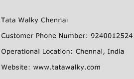 Tata Walky Chennai Phone Number Customer Service