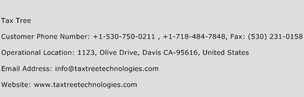 Tax Tree Phone Number Customer Service