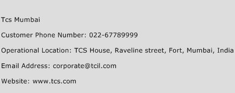 Tcs Mumbai Phone Number Customer Service