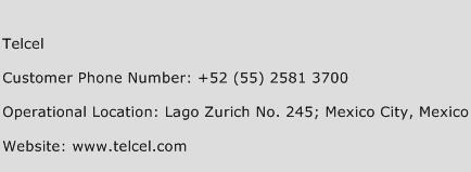 Telcel Phone Number Customer Service