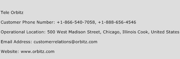 Tele Orbitz Phone Number Customer Service