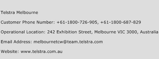 Telstra Melbourne Phone Number Customer Service
