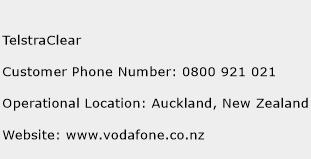 TelstraClear Phone Number Customer Service