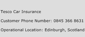 Tesco Car Insurance Phone Number Customer Service