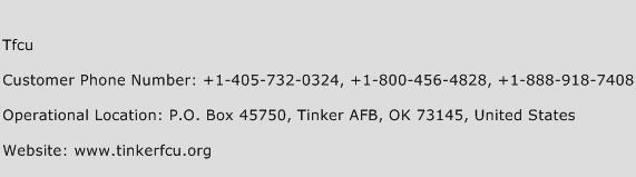 Tfcu Phone Number Customer Service