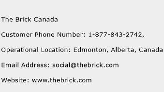 The Brick Canada Phone Number Customer Service