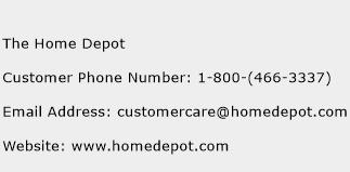 The Home Depot Phone Number Customer Service